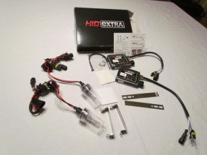 HID retrofit for car