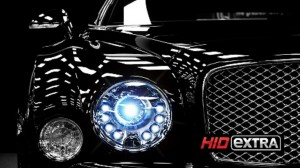12000k hid headlights on car