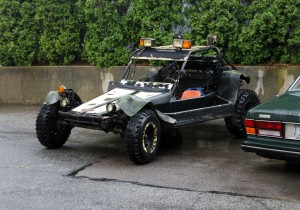 Baja offroad vehicle with HID headlights kits